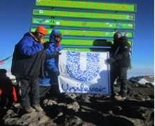 Unilever Staff Climb Kilimanjaro Kilimanjaro Blind Trust